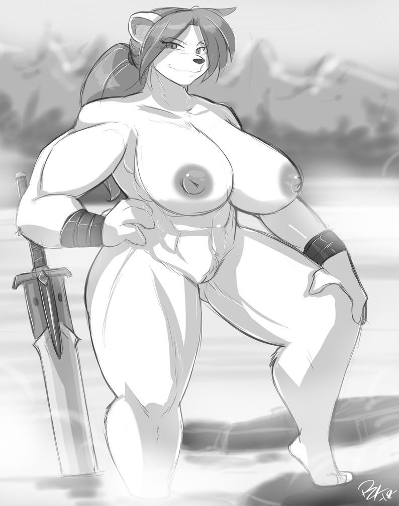 Nelvana Naked by Shonuff by Nogistune