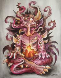Meditating Monster