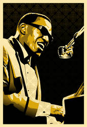 Ray Charles Robinson by In5a