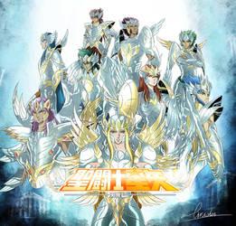Angels by liruohai
