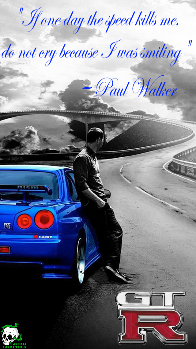 Paul Walker Wallpaper By Gr33nBrandyn