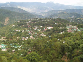 The city of Baguio by poopoopopo