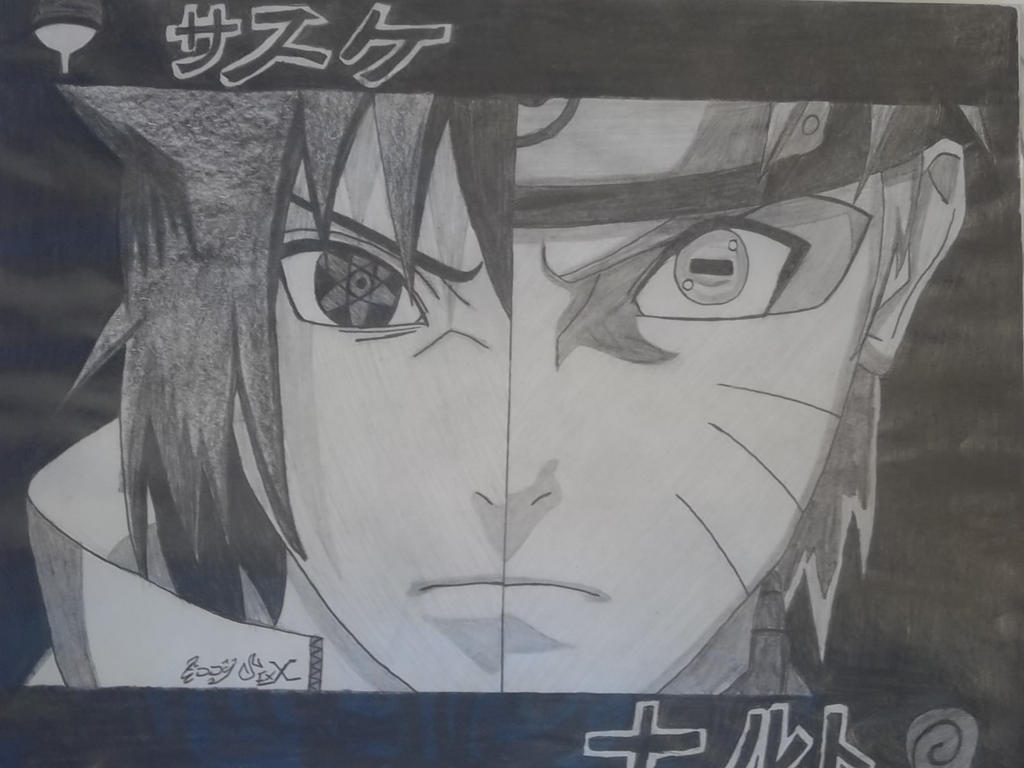 how to draw sasuke mangekyou sharingan