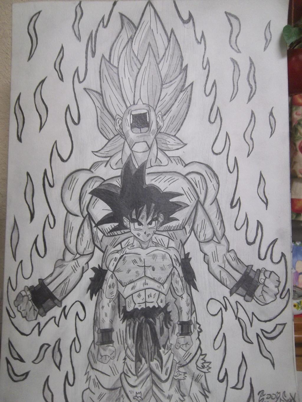 Goku Super Saiyan2 by EddySixX on DeviantArt