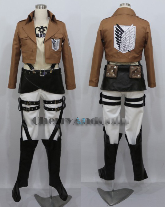 Attack on Titan Eren Jaeger Cos Cosplay by cherryandcolin ...