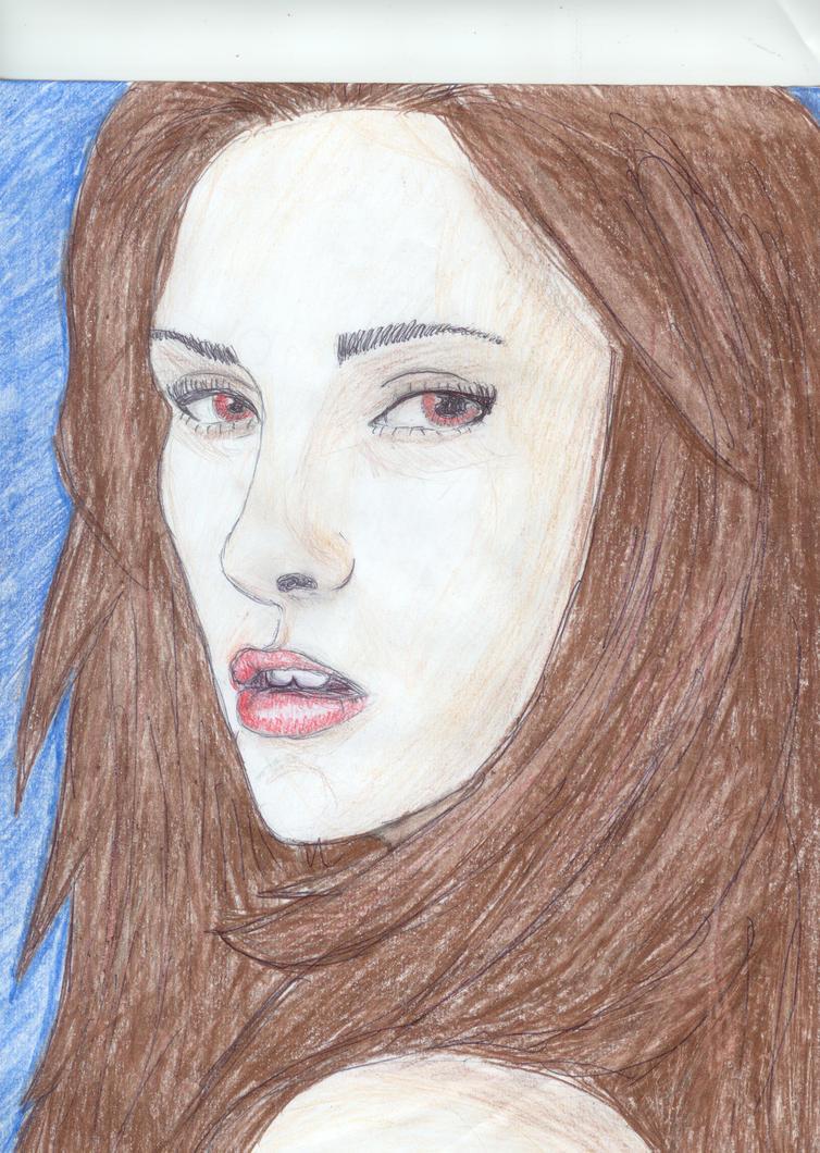 Vampire Bella by MissFrazzle