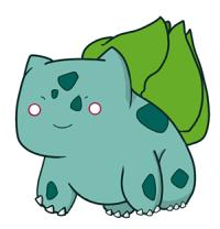 OO1. Bulbasaur by darIing