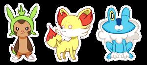 Pokemon XY Trio