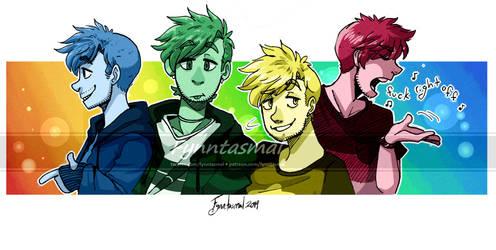 Rainbowman by Fynntasmal