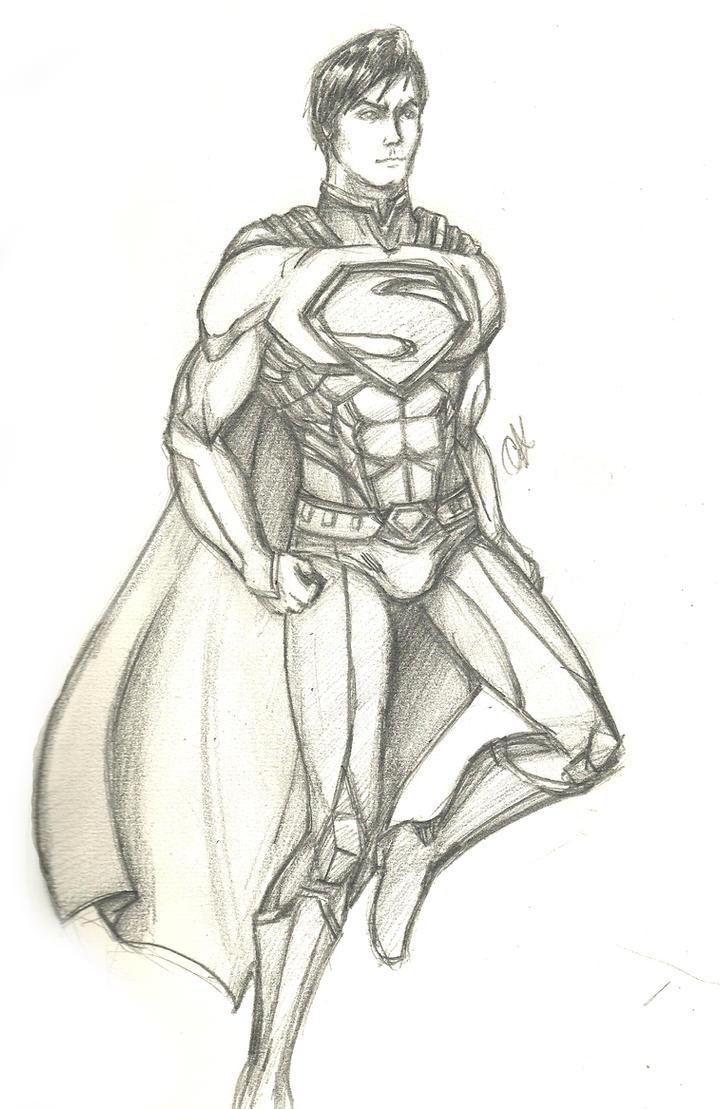 Superman by Cherry-Revolver
