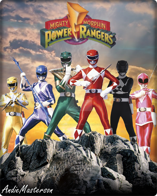 Mighty Morphin Power Rangers Wallpaper: Mighty Morphin Power Rangers 1 By AndieMasterson On DeviantArt
