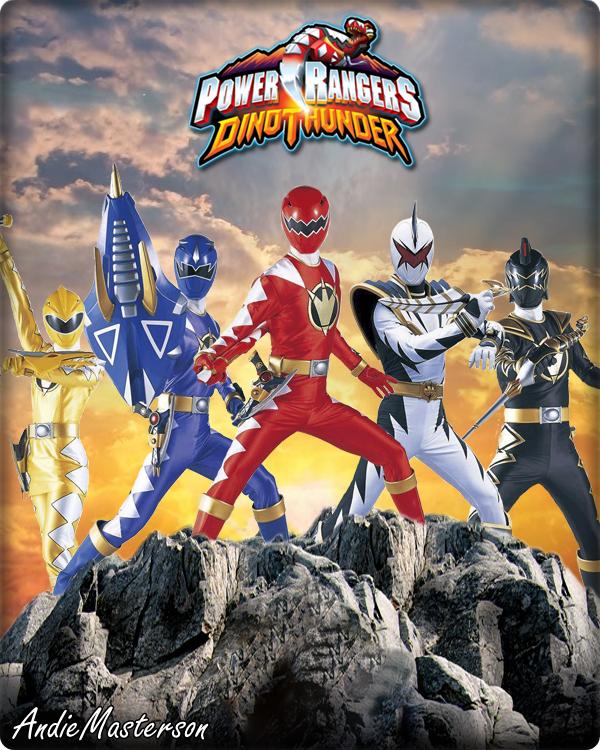 Power Rangers Dino Thunder by AndieMasterson on DeviantArt