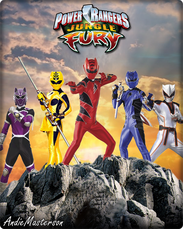 Power Rangers Jungle Fury by AndieMasterson ...