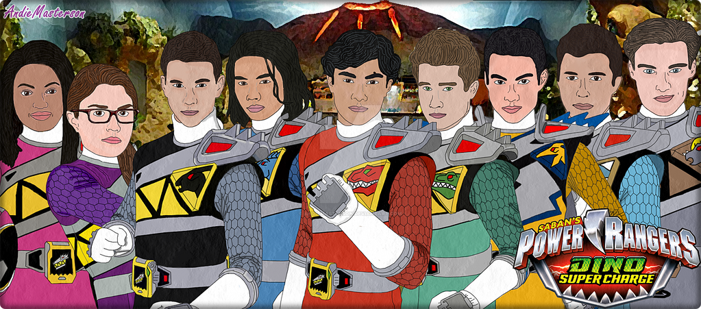 Power rangers dino super charge by andiemasterson on deviantart - Coloriage power ranger dino super charge ...