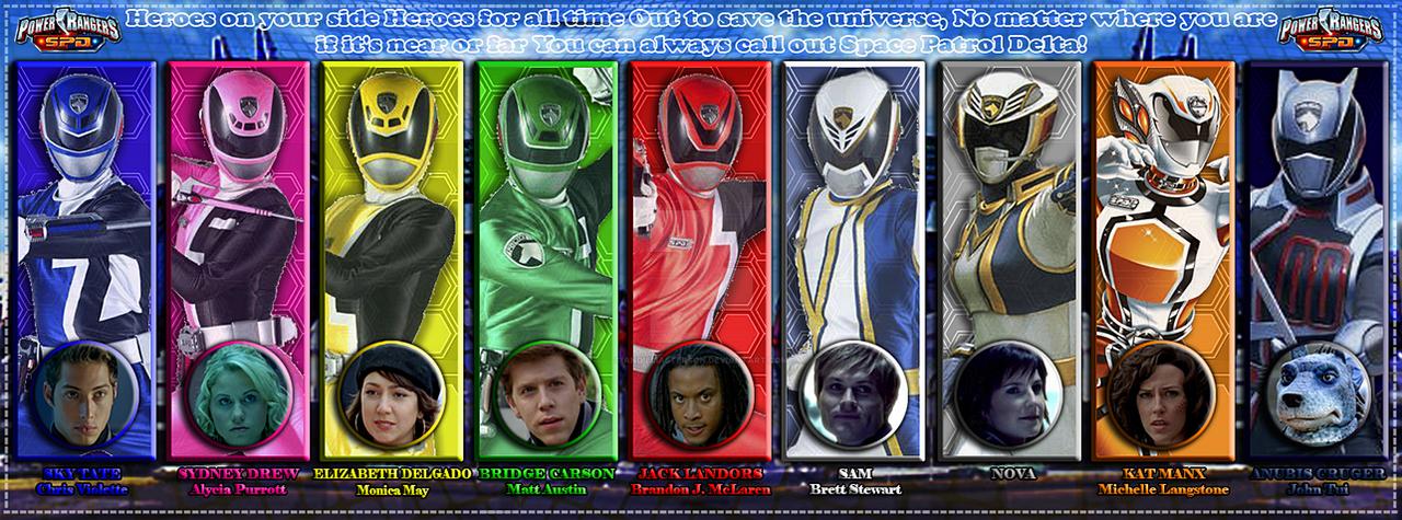 Power Rangers SPD By AndieMasterson On DeviantArt