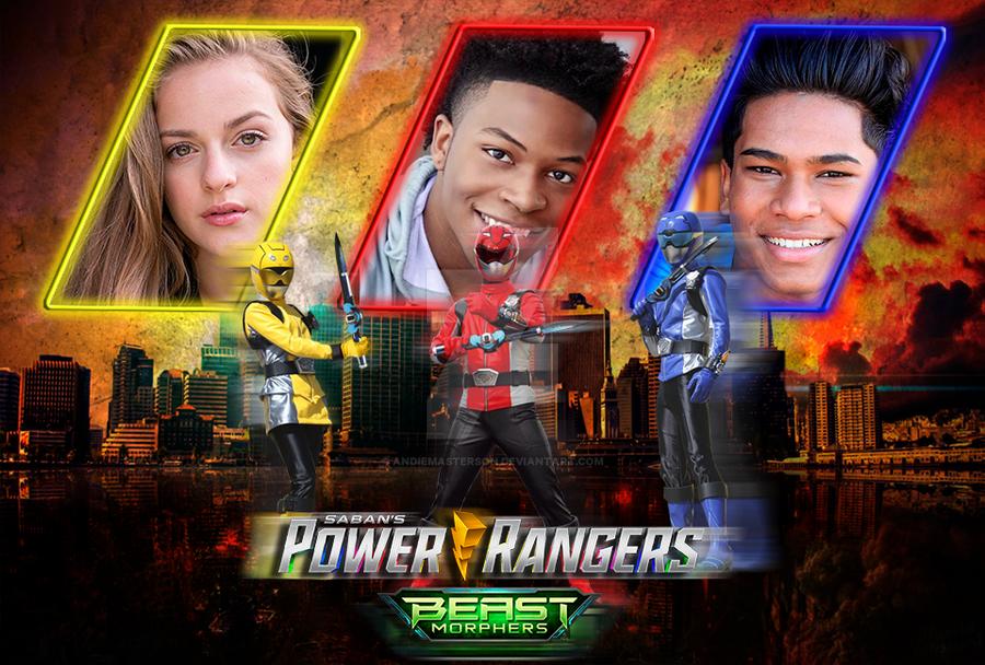 Power Rangers Beast Morphers by AndieMasterson on DeviantArt