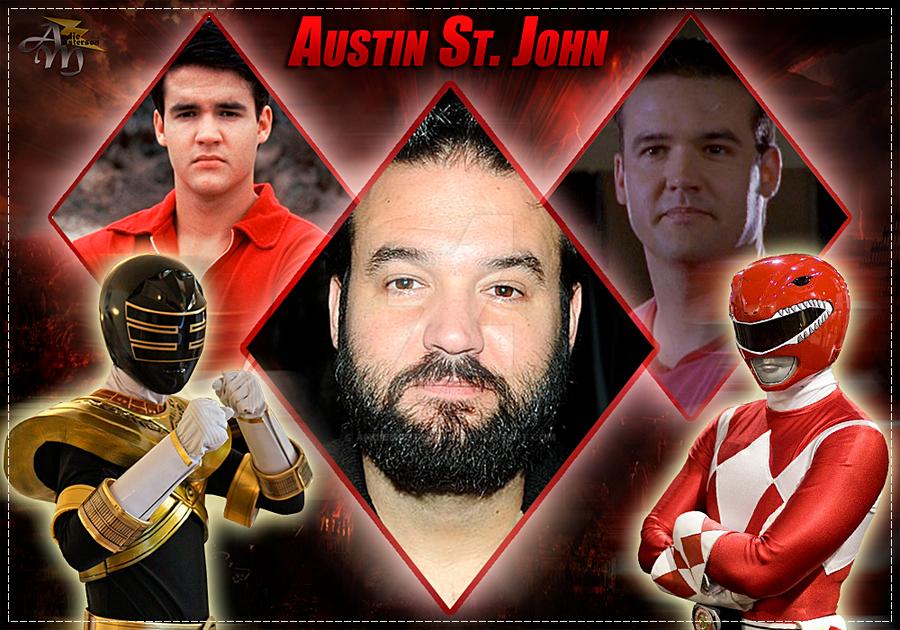 Austin St John Red Ranger By Andiemasterson On Deviantart