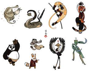 Kun Fu Prints :D