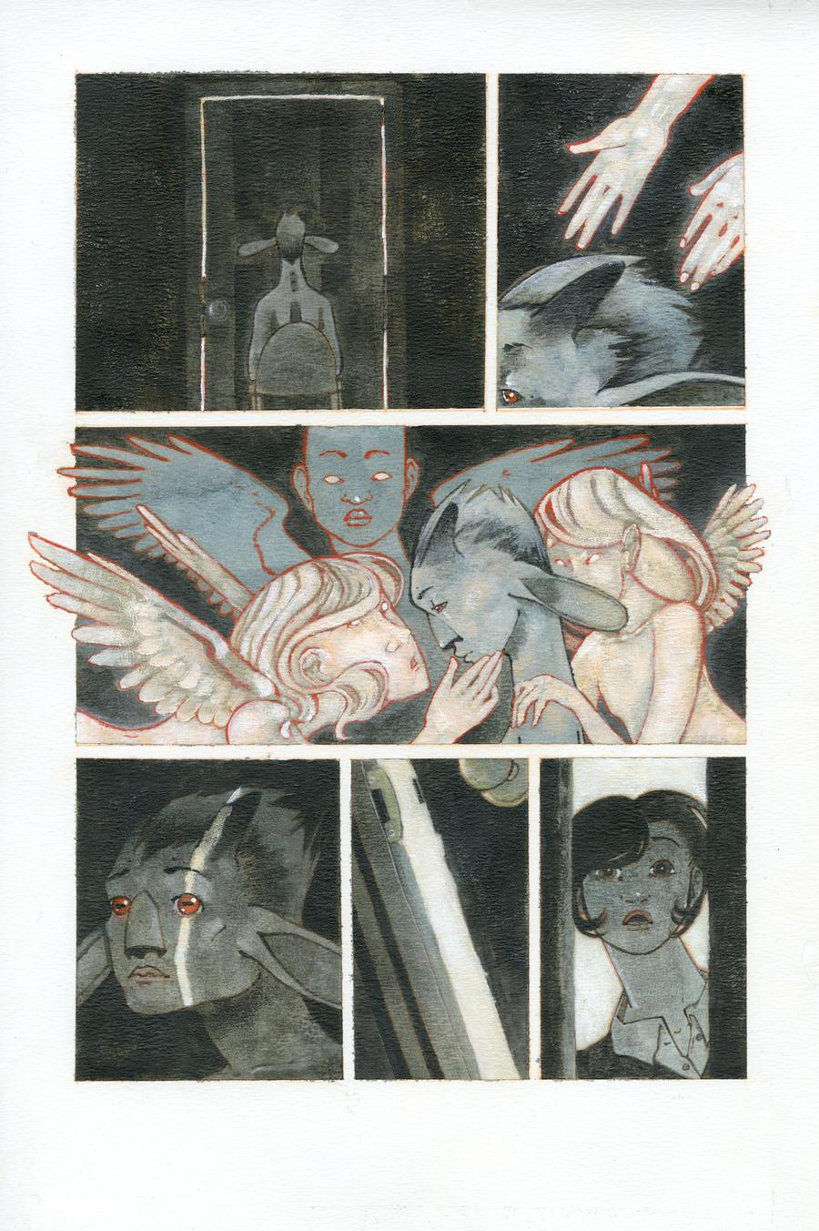 Elizabeth and the Angels FIN by CheiftainMaelgwyn