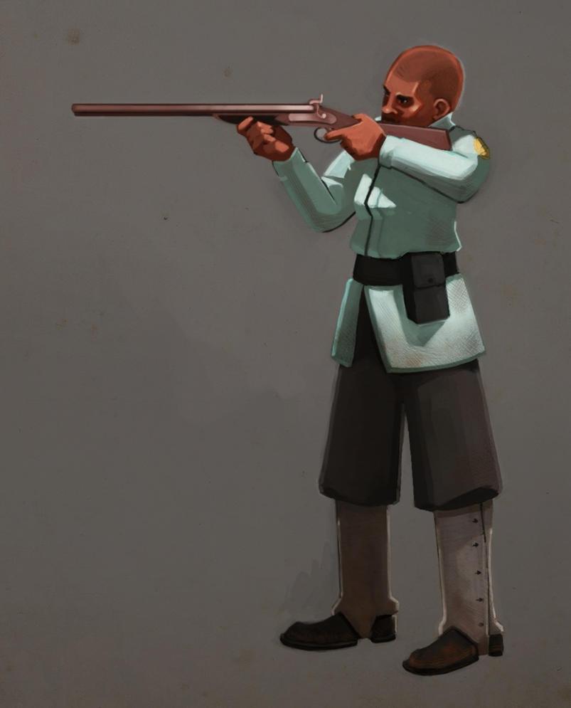 Tessa Grab Yo' GUN by CheiftainMaelgwyn