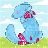 P2U: Sitting Base!! [pixel] by Jishokoi