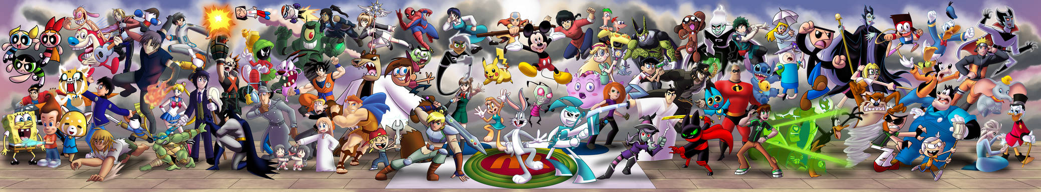 The Truly Ultimate Cartoon Crossover