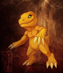 (2 hr) Fanart Friday - Agumon