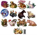 (2 hrs) Botanical Chinese Zodiac