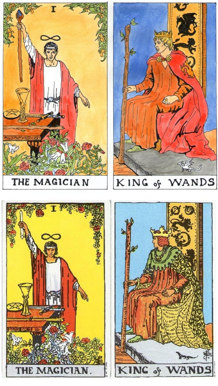 Alternative Tarot Cards By ObsidianSerpent On DeviantArt