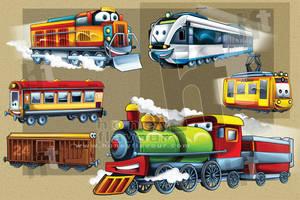 trains by honeyflavourcom