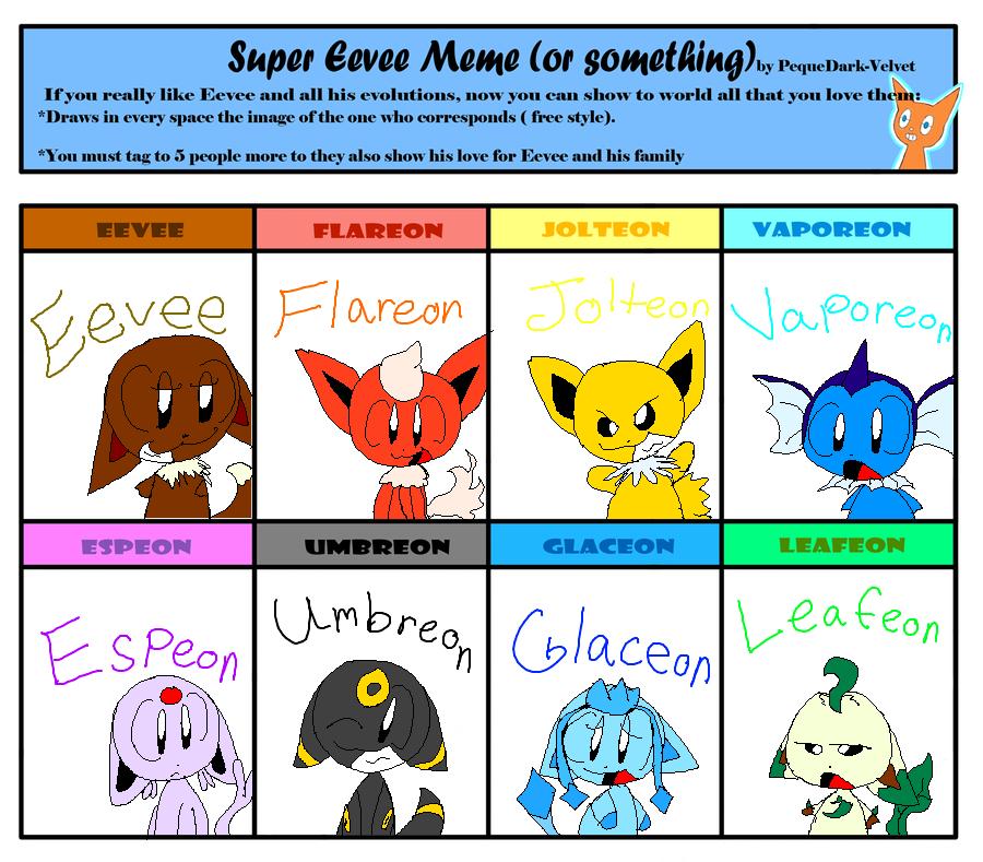 Super Eevee Meme By Pokemonmastereva222 On Deviantart