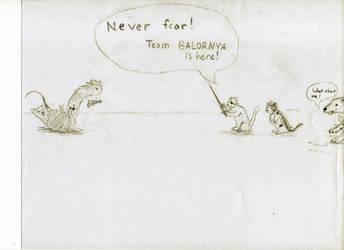 Team BALOR-NYA to the rescue! by Raidrar