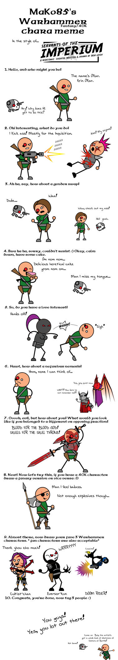Warhammer meme by evilscary