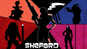 Shepard Archer wallpaper (femshep)