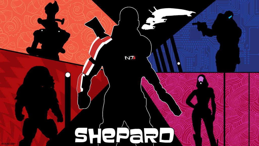Shepard Archer wallpaper (MShep) by evilscary