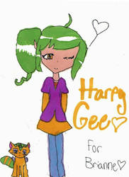 Harpy Gee better quality by pinkamenamad27