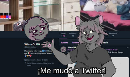 Me mude a Twitter