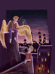 Angel Thing? by drosera-sundews