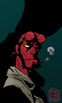 HELLBOY - portrait