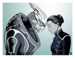 Theres no Shepard without Vakarian by ART-RevolveR