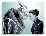 Theres no Shepard without Vakarian