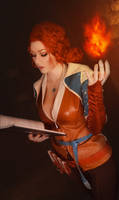 Triss Merigold - The Witcher 3 cosplay
