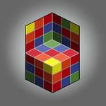 Pixel Optical illusion