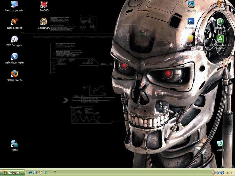 My Desktop by luiggi26