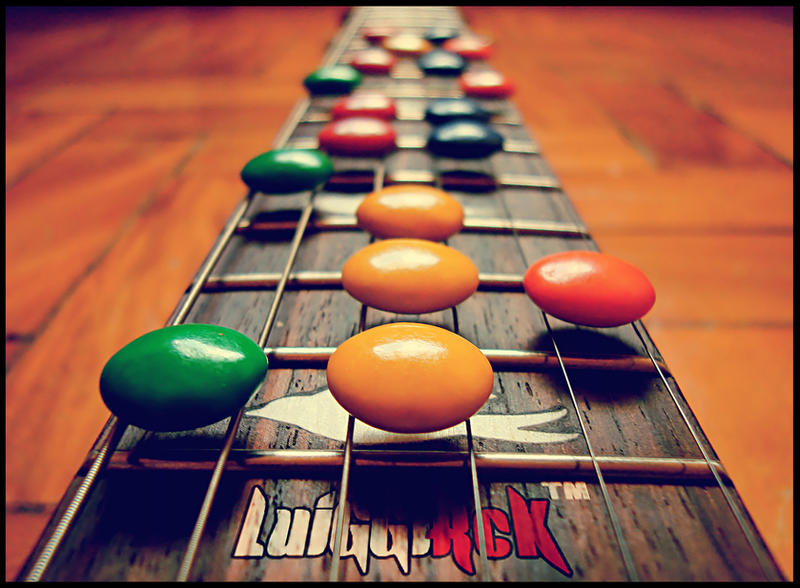 Guitar Hero by luiggi26