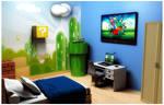 Super Mario Bros Bedroom