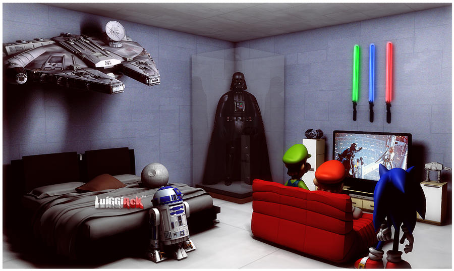 Star Wars Bedroom By Luiggi26 On Deviantart