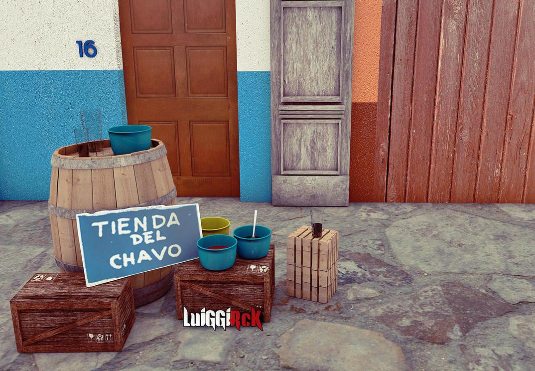 Tienda Del Chavo 2 by luiggi26
