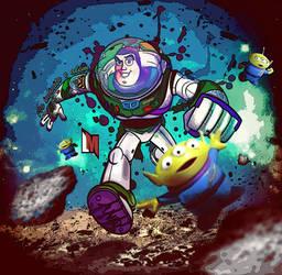Buzz Lightyear by luiggi26