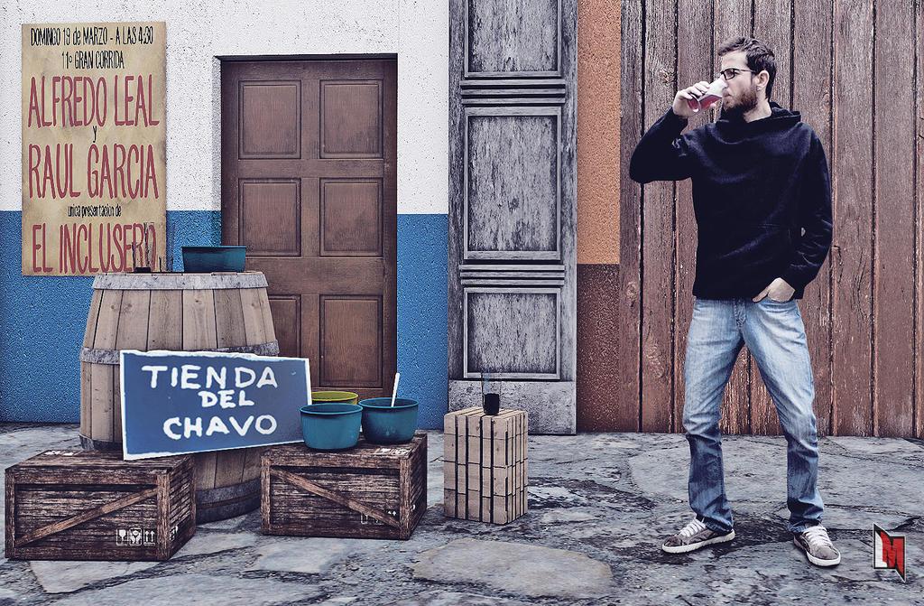 Tienda del Chavo by luiggi26